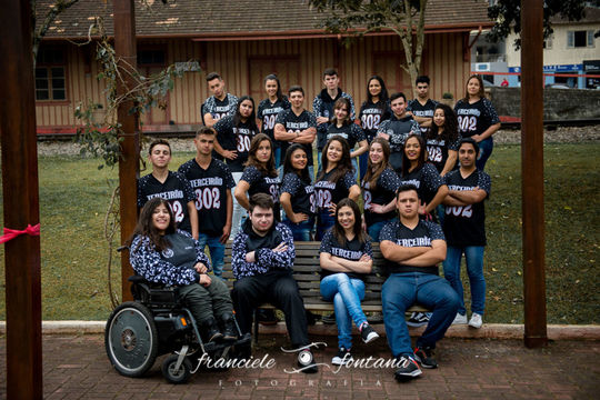 FORMANDOS  TURMA MATER SALVATORIS 302 | 2019